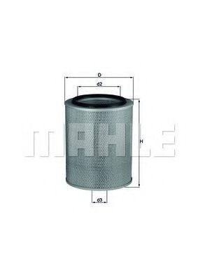 Воздушный фильтр KNECHT арт. LX531
