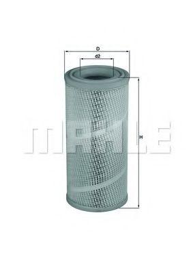 Фильтры воздуха салона автомобиля Воздушный фильтр KNECHT арт. LX1142