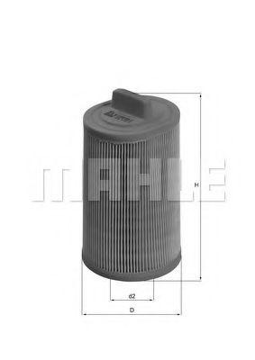 Фильтры воздуха салона автомобиля Воздушный фильтр KNECHT арт. LX1277