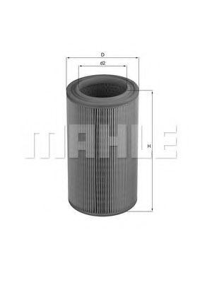 Фильтры воздуха салона автомобиля Воздушный фильтр KNECHT арт. LX2088