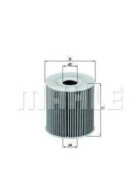 Фильтры масляные Масляный фильтр KNECHT арт. OX149D