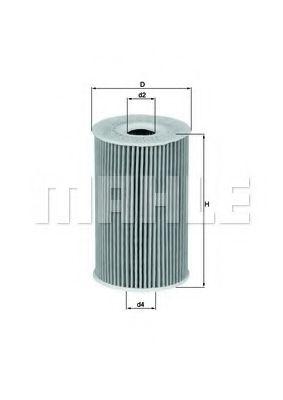 Фильтры масляные Масляный фильтр KNECHT арт. OX351D
