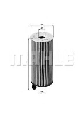Фильтры масляные Масляный фильтр KNECHT арт. OX404D