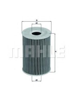 Фильтры масляные Масляный фильтр KNECHT арт. OX415D
