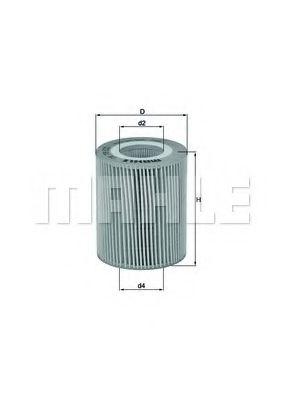 Фильтры масляные Масляный фильтр KNECHT арт. OX776D
