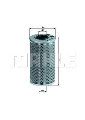 Фильтры масляные Масляный фильтр KNECHT арт. OX103D