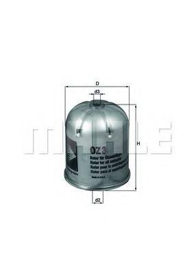 Масляный фильтр KNECHT арт. OZ3D