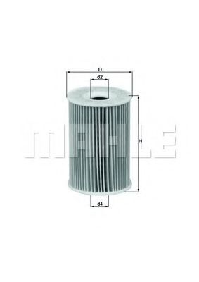 Фильтры масляные Масляный фильтр KNECHT арт. OX1351D