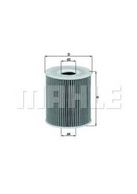 Фильтры масляные Масляный фильтр KNECHT арт. OX156D1