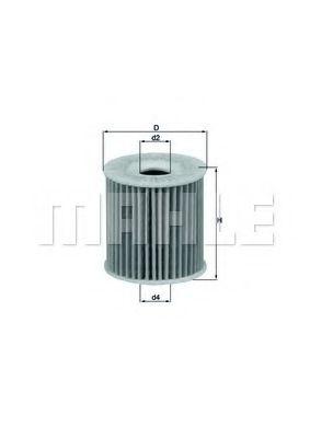 Фильтры масляные Масляный фильтр KNECHT арт. OX346D