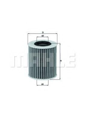 Фильтры масляные Масляный фильтр KNECHT арт. OX413D1
