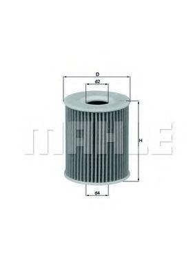 Фильтры масляные Масляный фильтр KNECHT арт. OX422D