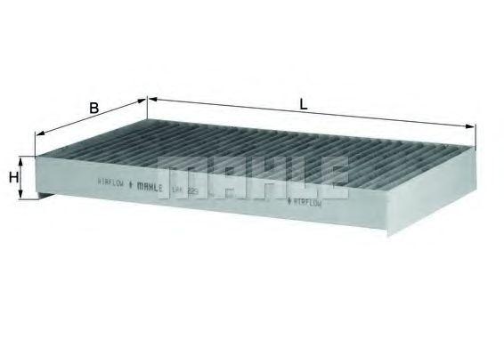 Фильтры прочие Фильтр, воздух во внутренном пространстве KNECHT арт. LAK229