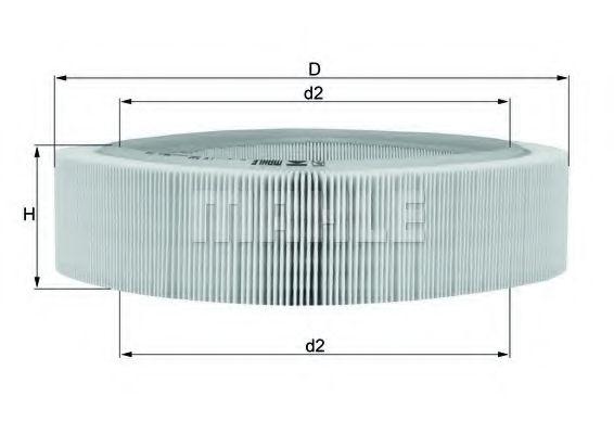 Фильтры воздуха салона автомобиля Воздушный фильтр KNECHT арт.
