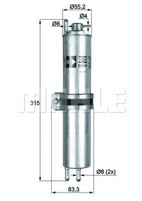 Фильтры топливные Топливный фильтр KNECHT арт. KLH12