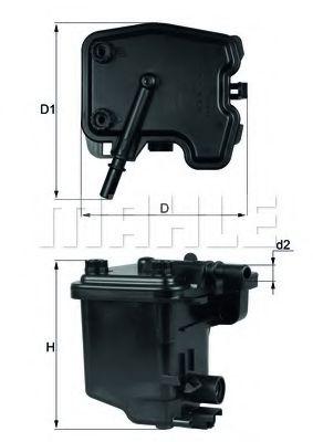 Фильтры топливные Топливный фильтр KNECHT арт. KL431D