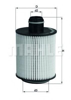 Фильтры масляные Масляный фильтр KNECHT арт. OX553D