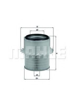 Фильтры воздуха салона автомобиля Воздушный фильтр KNECHT арт. LX673