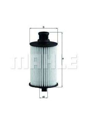Фильтры масляные Масляный фильтр KNECHT арт. OX774D