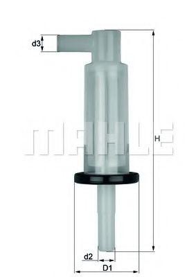 Паливний фільтр Knecht KL33OF