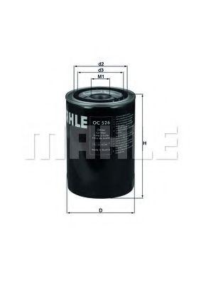 Фильтры масляные Масляный фильтр KNECHT арт. OC526