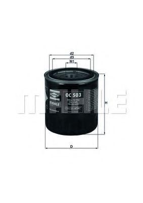Фильтры топливные Масляный фильтр KNECHT арт.