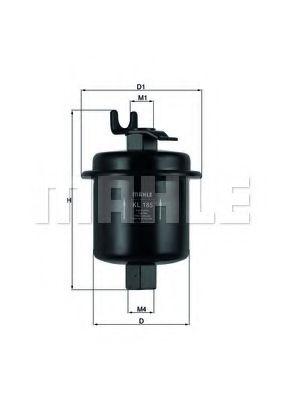 Паливний фільтр Knecht KL185