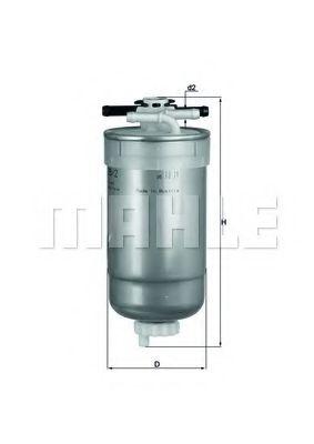 Фильтры топливные Топливный фильтр KNECHT арт.