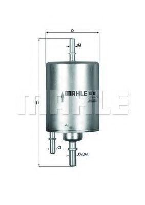 Фильтры топливные Топливный фильтр KNECHT арт. KL571