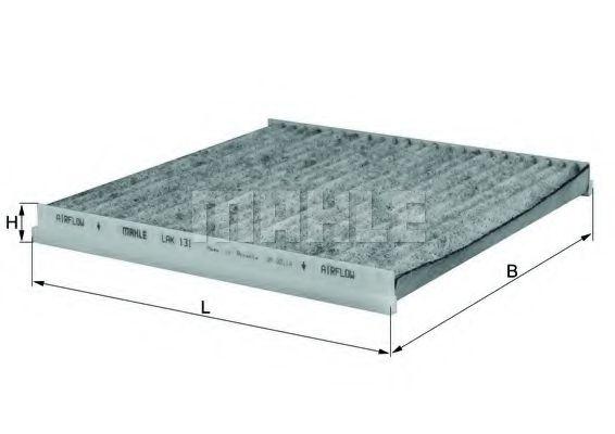 Фильтры прочие Фильтр, воздух во внутренном пространстве KNECHT арт. LAK131