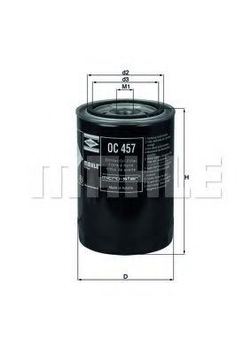 Фильтры масляные Масляный фильтр KNECHT арт. OC457