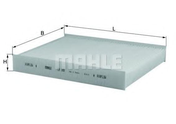 Фильтры прочие Фильтр, воздух во внутренном пространстве KNECHT арт. LA169