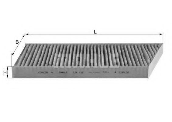 Фильтры прочие Фильтр, воздух во внутренном пространстве KNECHT арт. LAK129