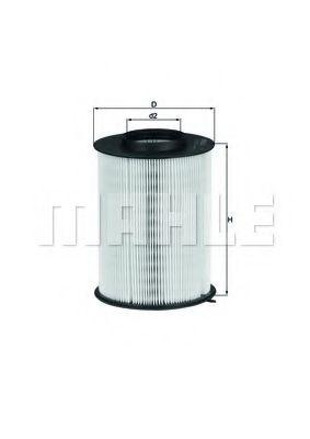 Фильтры воздуха салона автомобиля Воздушный фильтр KNECHT арт. LX17803