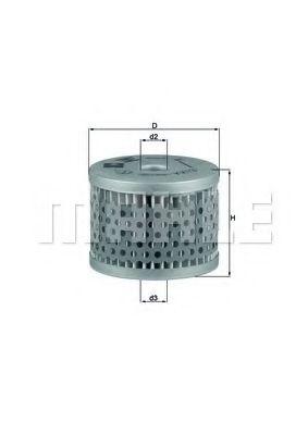 Фильтры топливные Топливный фильтр KNECHT арт. KX13