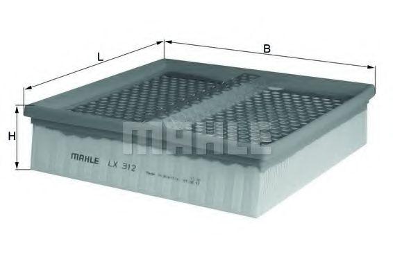 Фильтры воздуха салона автомобиля Воздушный фильтр KNECHT арт. LX312