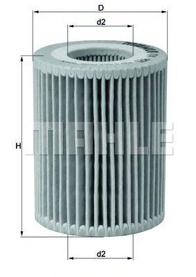 Фильтры масляные Масляный фильтр KNECHT арт. OX825D