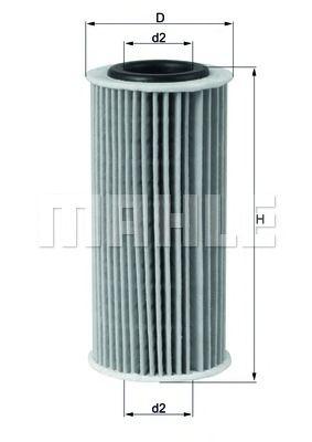 Фильтры масляные Масляный фильтр KNECHT арт. OX835D