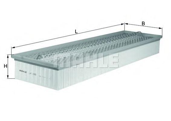 Фильтры воздуха салона автомобиля Воздушный фильтр KNECHT арт. LX335