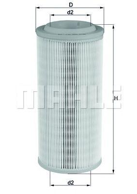 Фильтры воздуха салона автомобиля Воздушный фильтр KNECHT арт. LX1595
