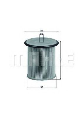 Фильтры топливные Топливный фильтр KNECHT арт. KX74