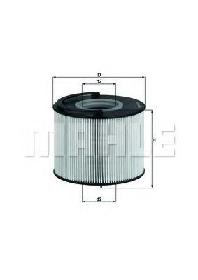 Фильтры топливные Топливный фильтр KNECHT арт. KX192D