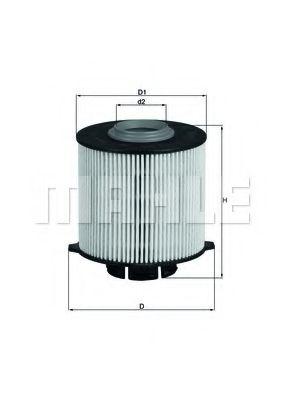 Фильтры топливные Топливный фильтр KNECHT арт. KX265D