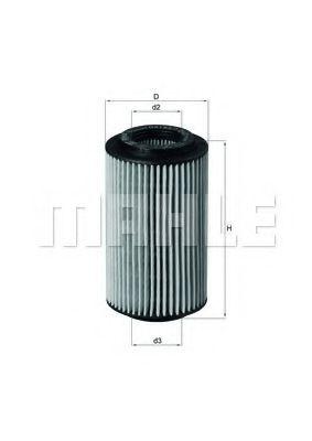 Фильтры масляные Масляный фильтр KNECHT арт. OX1537D2