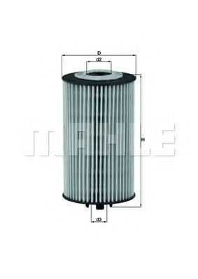 Фильтры масляные Масляный фильтр KNECHT арт. OX401D
