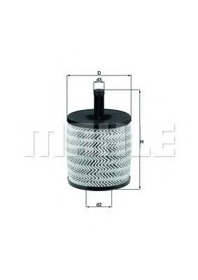 Фильтры масляные Масляный фильтр KNECHT арт. OX556D