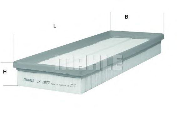 Фильтры воздуха салона автомобиля Воздушный фильтр KNECHT арт. LX2877