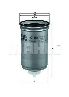 Паливний фільтр Knecht KC90