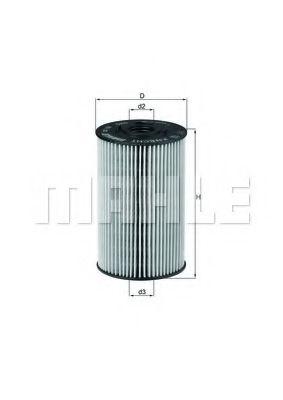 Фильтры масляные Масляный фильтр KNECHT арт. OX150D1