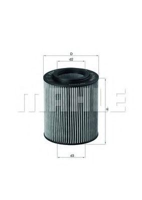 Фильтры масляные Масляный фильтр KNECHT арт. OX1541D
